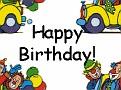 BirthdayAnimatedClownCar