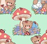 Teddies&Mushrooms