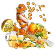 Les 11 With a Orange Kiss