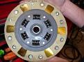 Clutch disc - flywheel side