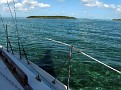day sailing on the Pearson Ariel near Hope Town, Bahamas recently.
