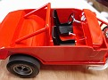 Two racing bucket seats from Revell '68 Firebirds