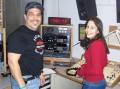 Guillermo Gonzalez (Friday 8-10pm) & daughter Bianca