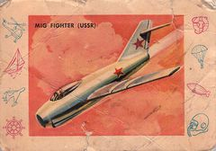 1958 Card-O Planes, Trains and Ships #T-13 (1)