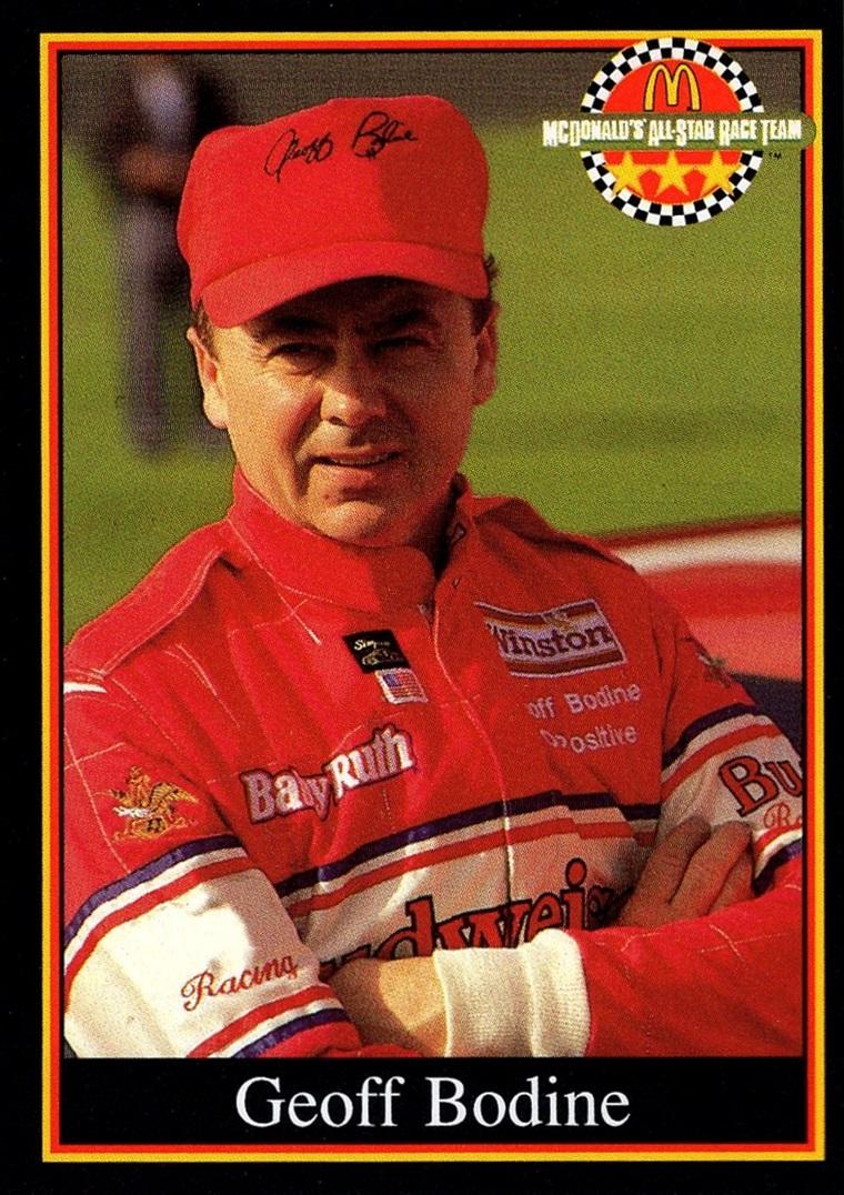 1991 Maxx McDonald's All-Star Race Team #03 E (1)