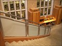 the stairs at the Music library