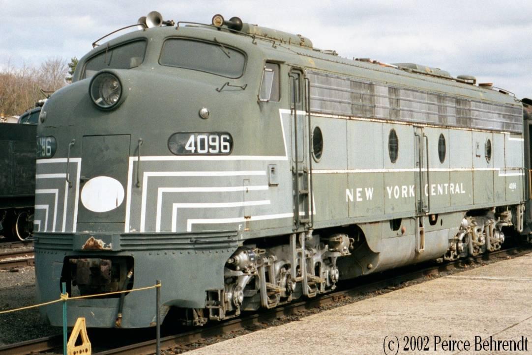 EMD E-9A New York Central 4094