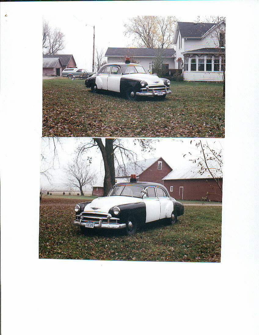 Unk - Unknown 1952 Chevy police car clone