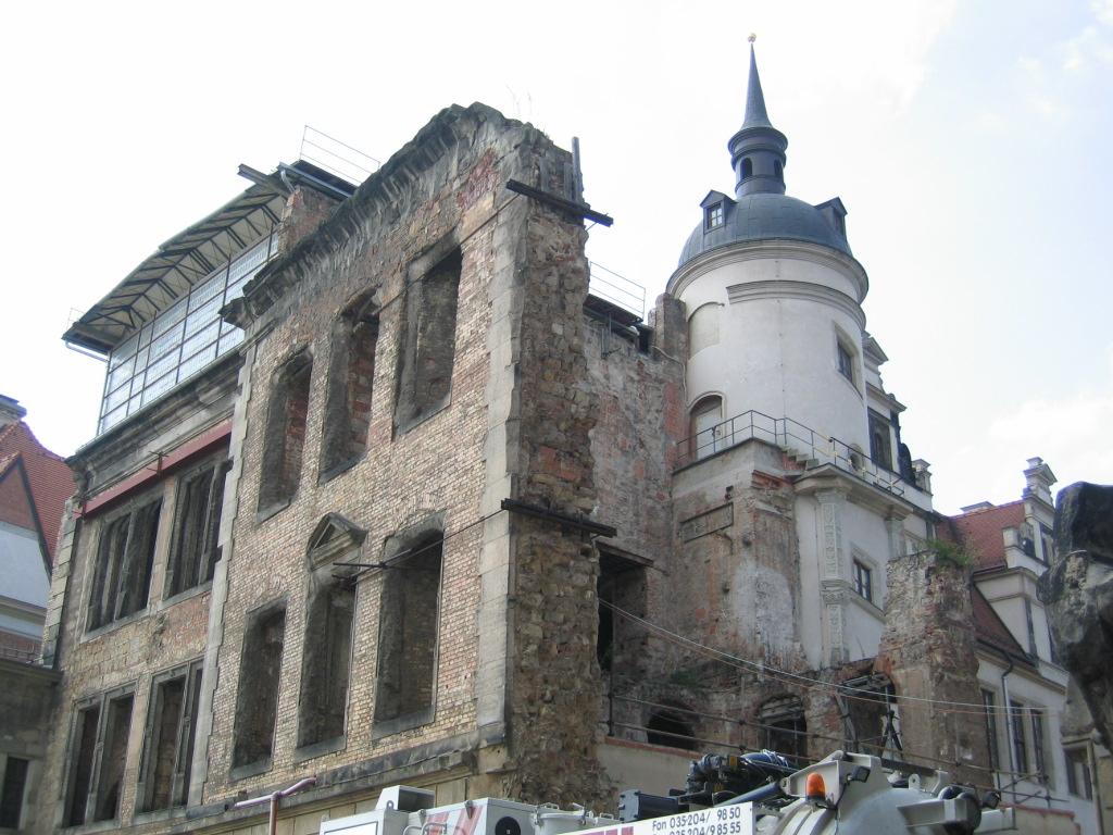Dresden Today, still rebuilding.
