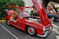 1956 Mercedes-Benz 300 SL owned by Jay and Bonnie McDonald