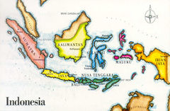 01- Map of Indonesia