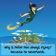 Peter Pan - Weekly comic about web developers, software and browsers