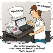 Printer - Weekly comic about web developers, software and browsers