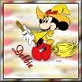 Minnie as witchTDebbie