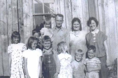 "222-Jackson ""Jack"" Smithers, and Rachel (Boshears) Smithers Family"