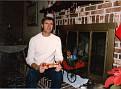 E. Ray Austin at Treva's house in VA Beach, VA about 1986.