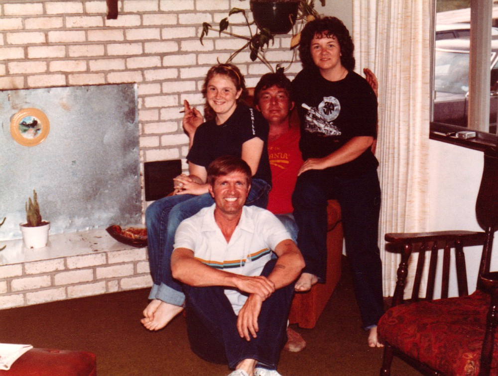 E. Ray, Michelle, Russell, and Shelia Ipock.