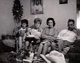 Linda Gail Lay, Mark Lay, Betty Moffett, Mildred, and Charles Smithers
