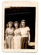 Delsie Massengale, Doris Harness and Grace Carroll
