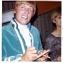Paul Revere of Paul Revere & the Raiders signing an autograph, Amarillo, Texas, OCT 1967. Photo courtesy of D'Ann Scroggins.