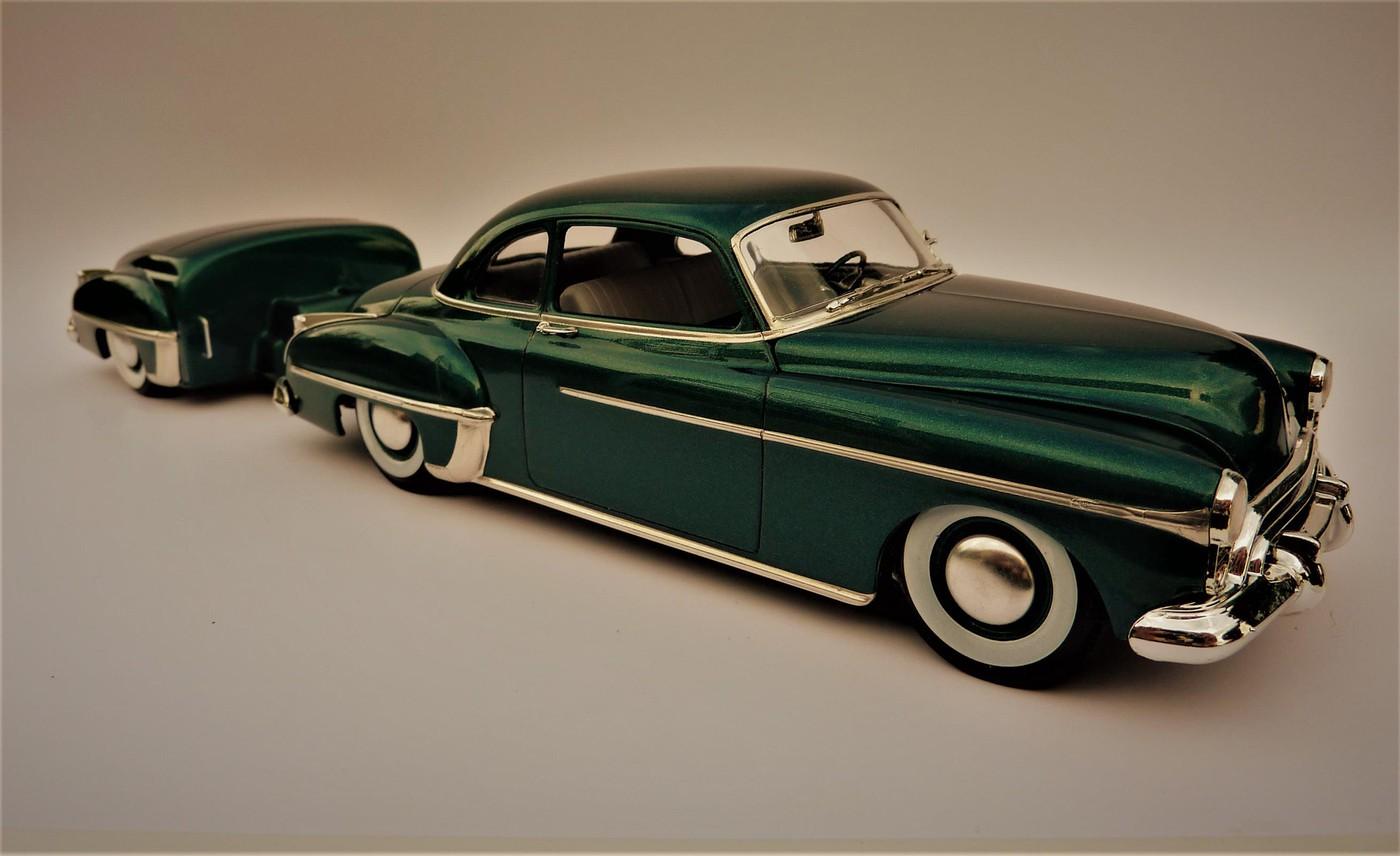 Projet Oldsmobile 50 avec remorque assortie terminé Photo28-vi