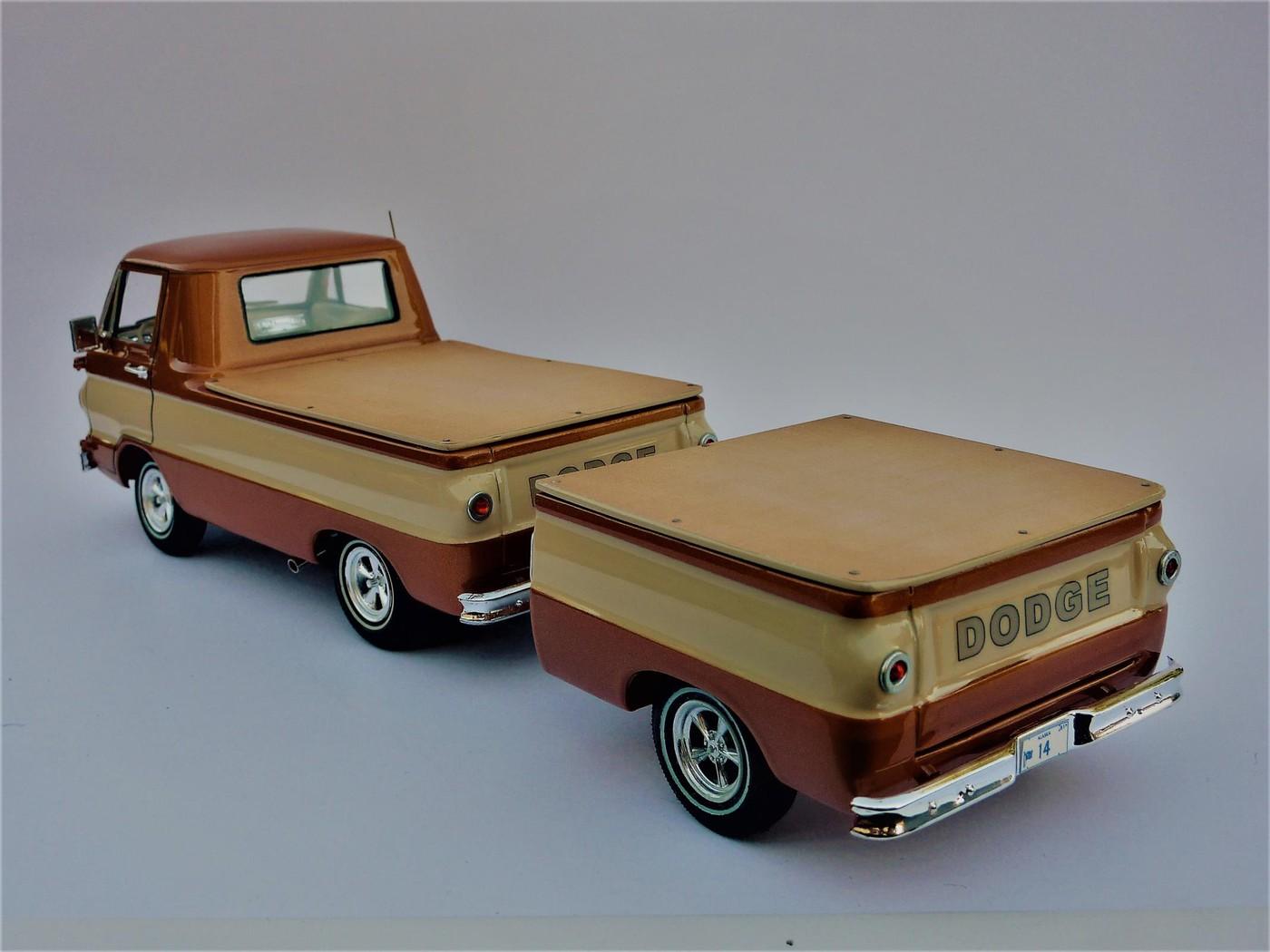 Dodge A 100 pickup avec remorque terminé Photo21-vi
