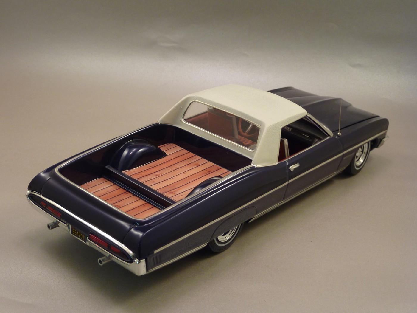 Pontiac Bonneville  70 Pick Up terminée Photo25-vi