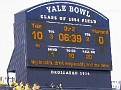 OK - first score shot - first half - Yale leads