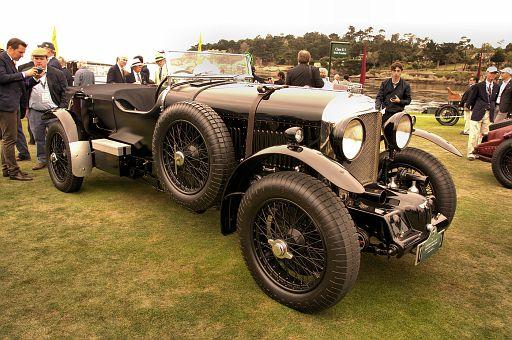 1930 Bentley 4½ Litre SC Vanden Plas Le Mans Sports, Private Collection DSC 2367 -1