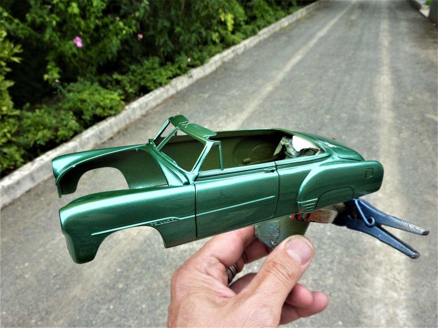 projet Chevrolet 51 convertible terminée  Photo1-vi