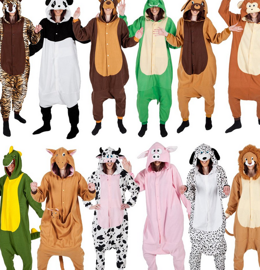 animal onesie pajamas