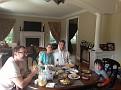 the breakfast earlier that day...