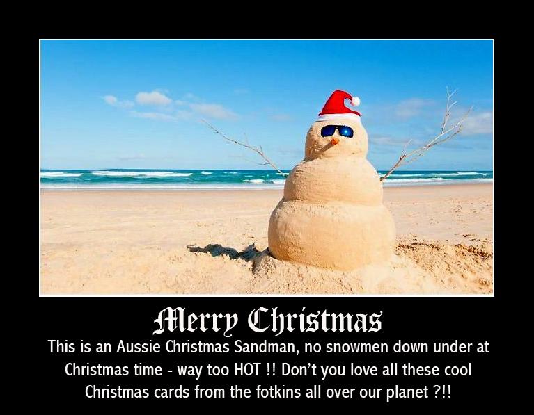 Christmas Sandman framed