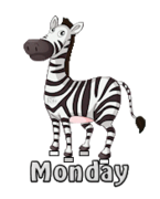 DOTW Monday - DancingZebra
