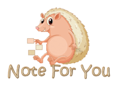 Note For You - CutePorcupine