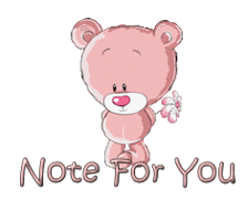 Note For You - ShyTeddy