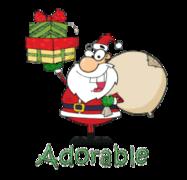 Adorable - SantaDeliveringGifts