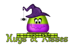 Hugs & Kisses - CandyCornWitch