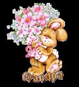 Grandpa - BunnyWithFlowers