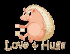 Love & Hugs - CutePorcupine