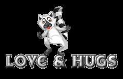 Love & Hugs - RaccoonStepOnName