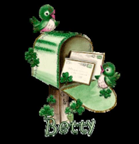 Betty - StPatrickMailbox16