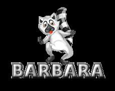 Barbara - RaccoonStepOnName