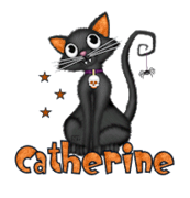 Catherine - HalloweenKittySitting
