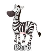 Barb - DancingZebra