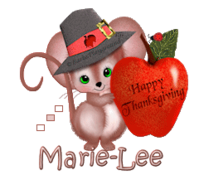 Marie-Lee - ThanksgivingMouse