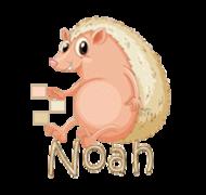 Noah - CutePorcupine
