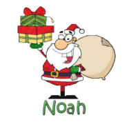 Noah - SantaDeliveringGifts