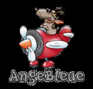 AngeBleue - DogFlyingPlane