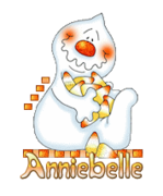 Anniebelle - CandyCornGhost